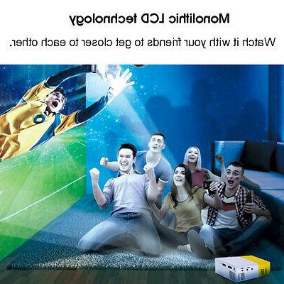 Led Mini Portable Theater + Projection Screen
