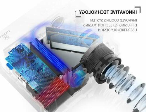 VANKYO 3 HD Mini 2400 Lux HDMI AV Home -White