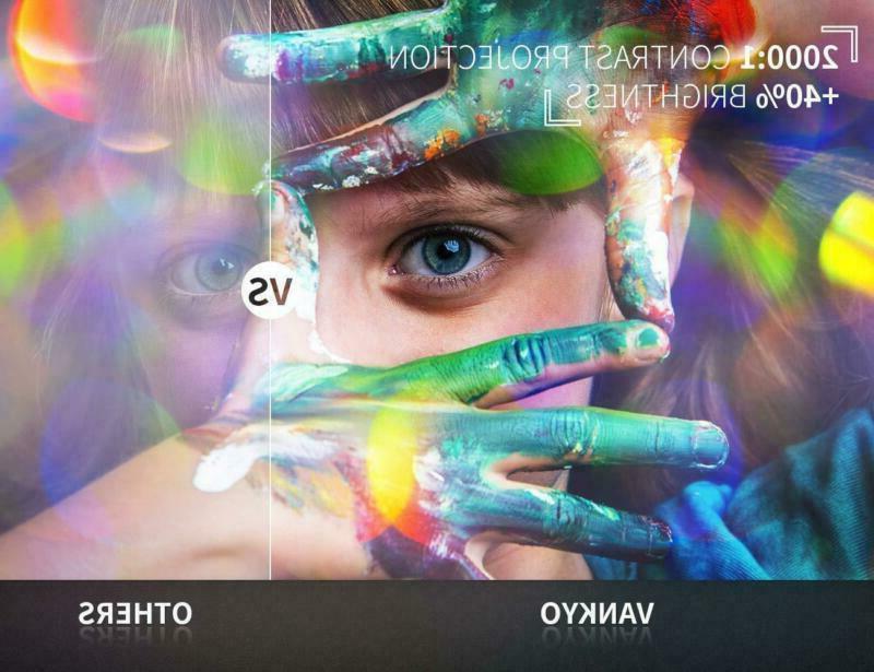 VANKYO Lux Projector 170'' Display