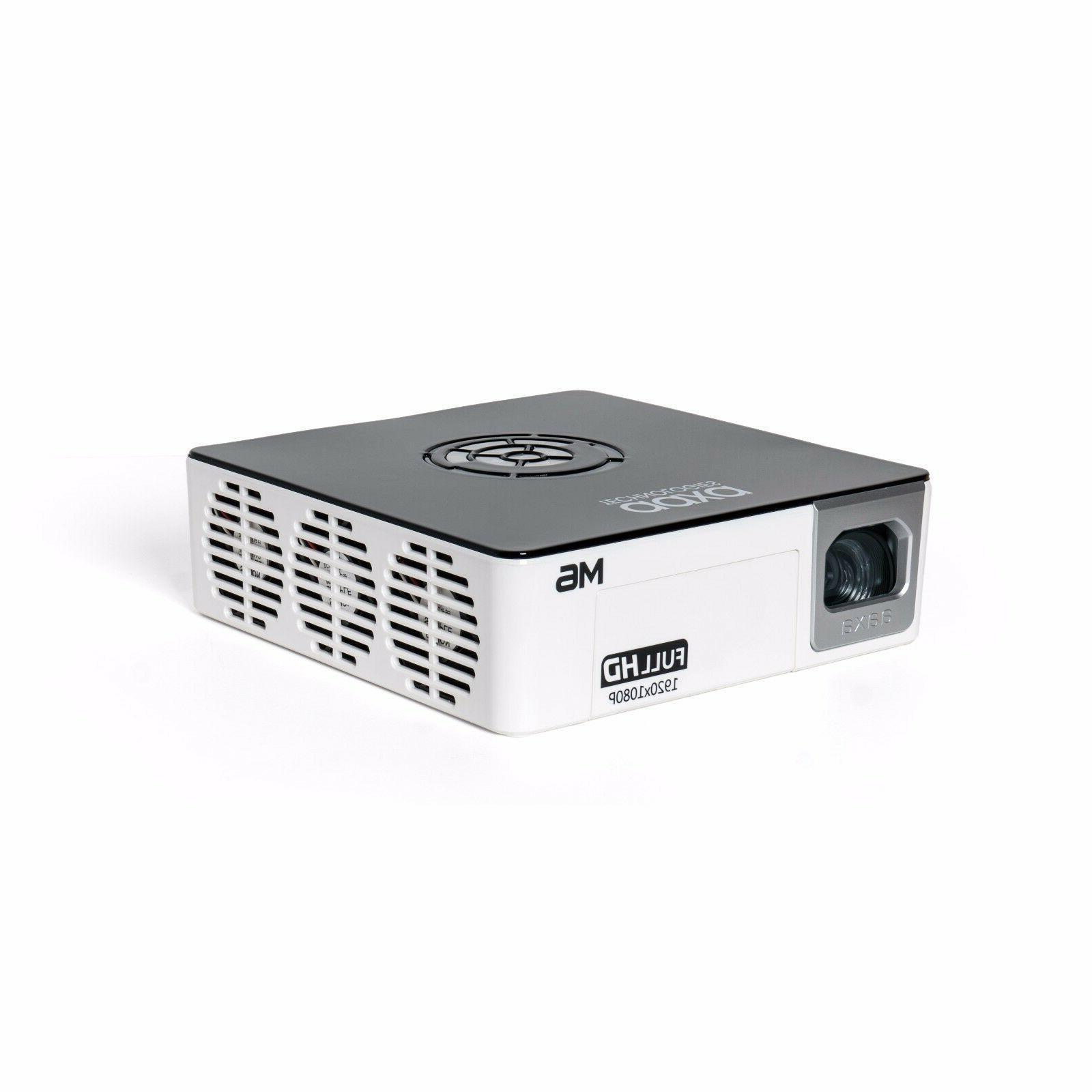 AAXA M6 FULL HD Lumens,Battery Powered,1920x1080p