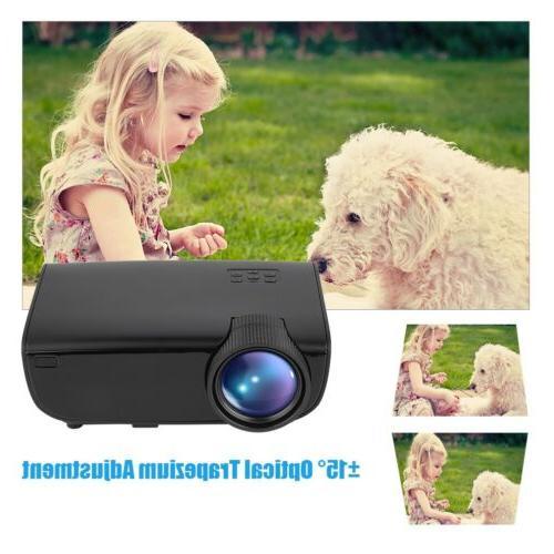 Mini LED Projector Cinema USB Multimedia