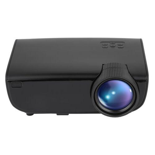 Mini LED Projector Theater Cinema USB Multimedia
