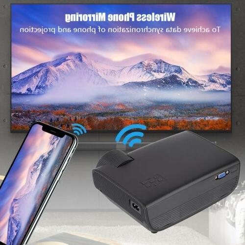 Mini 1080P Full LED Cinema USB