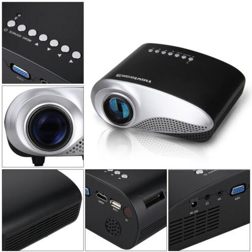 LED Projector Home Cinema Iphone Labtop