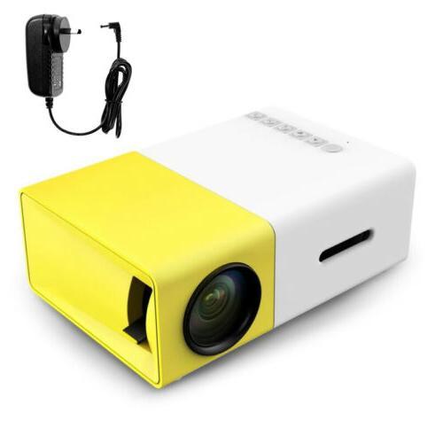 YG300 LED LCD HD Home Theater USB