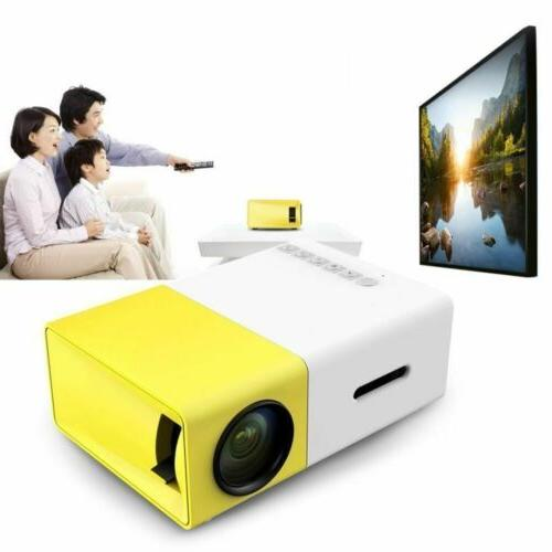 mini 1080p hd multimedia portable projector led