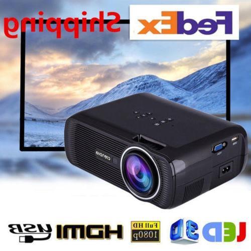 mini 1080p hdmi full led multimedia projector