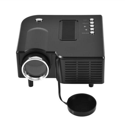 Mini Projector Theater TV VGA