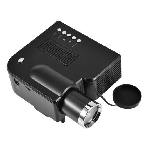 Mini 1080P LED Projector Home Theater TV VGA HDMI