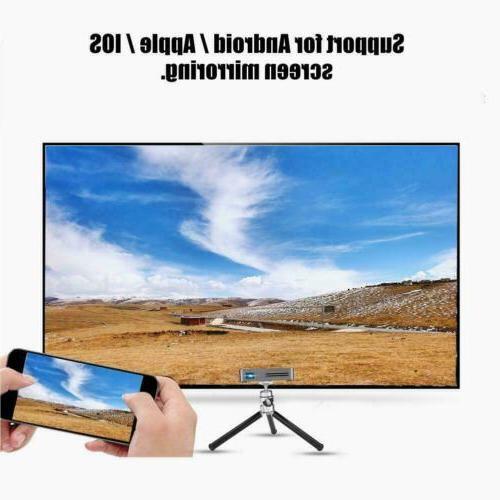 Mini DLP Home Projector HDMI SD
