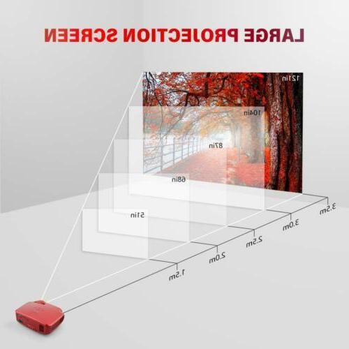 """Projector Portable Mini 3200 200"""" PS4"""