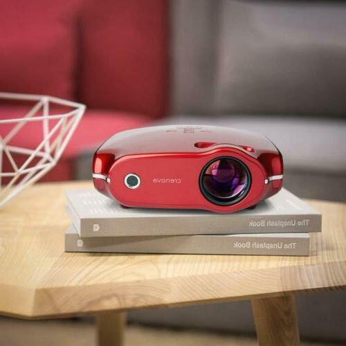 projector portable mini movie 3200 lux 200