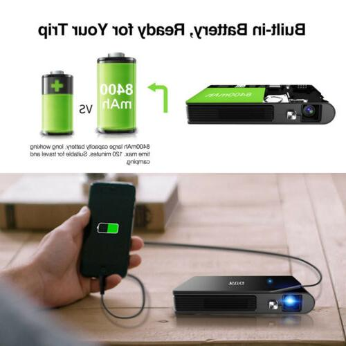 Portable Mini HD DLP WiFi Airplay Home HDMI USB