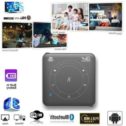 mini 4000lumen dlp android 3d hd 1080p