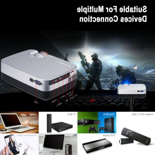 1080P HD LCD Aideo Home HDMI
