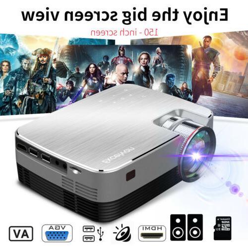 1080P Projector LCD HDMI AV