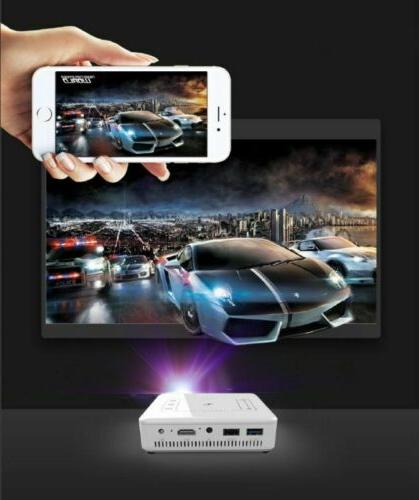 Mini HD 1080P Projector Wifi 4K HDMI