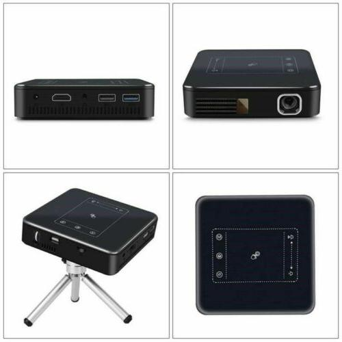 Mini 5000Lumens DLP 1080P TOUCH Projector Wifi Bluetooth