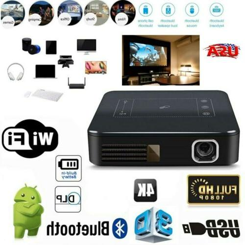 mini 5000lumens dlp hd 1080p touch projector