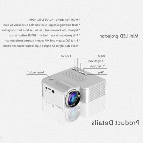 MINI HD LED HDMI/USB/SD/AV/VGA CINEMA