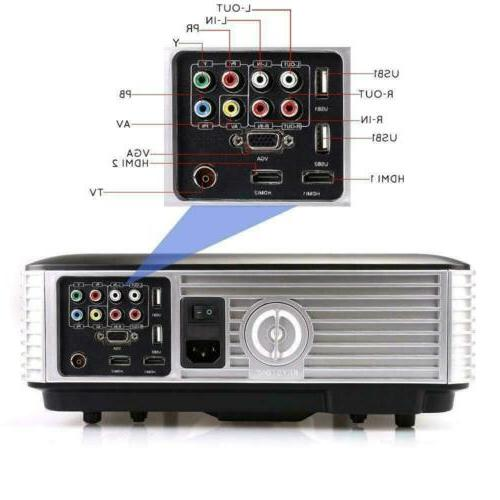 3D Projector Home Theater Multimedia