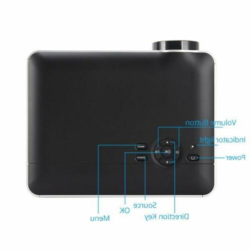 HD LED HDMI/USB/SD/AV/VGA