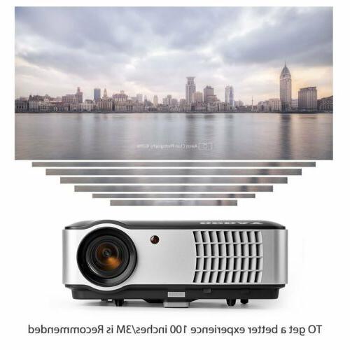 MINI 3D 1080P HD LED HDMI/USB/SD/AV/VGA CINEMA US