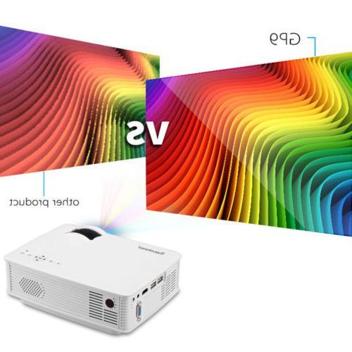 MINI 7000LUMEN HDMI/USB/SD/AV/VGA HOME CINEMA