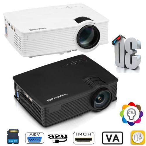mini 7000lumen 3d 1080p hd led video