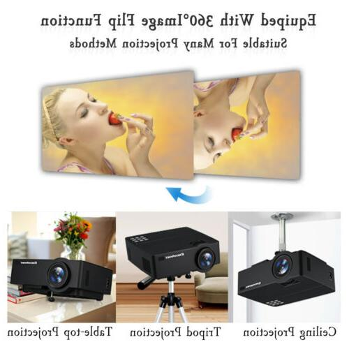 Wireless Android Home Theater Projector HD 1080P