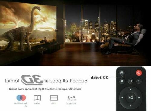 Mini Projector HD 1080p Cinema