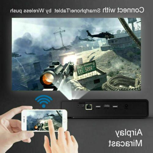 Mini Projector 4K 3D Cinema HDMI