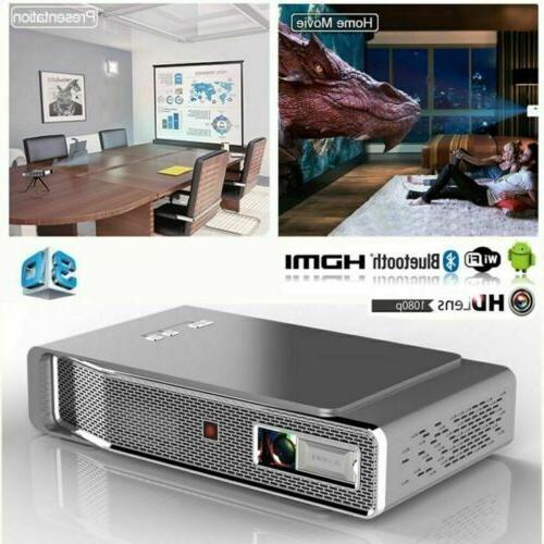 mini 8500 lumens dlp projector 4k 3d