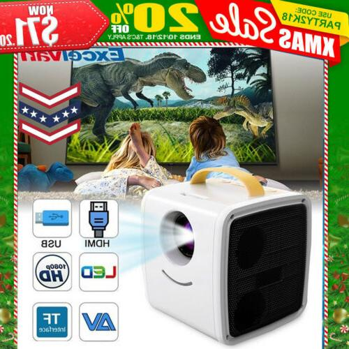 mini children s projector 3d 1080p multimedia