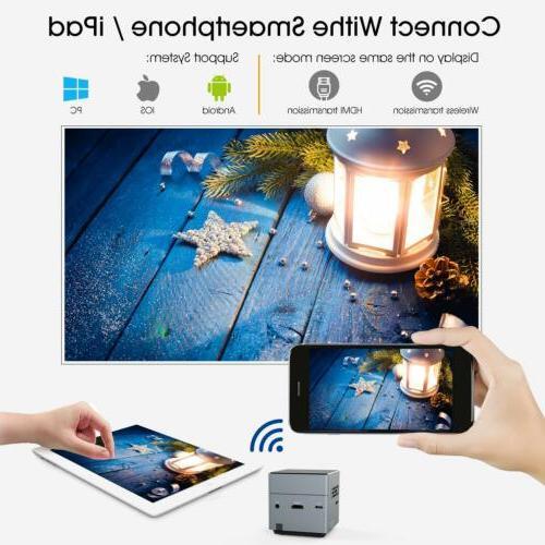 Mini Cube Pico Smart Wi-Fi Tripod for Android iOS