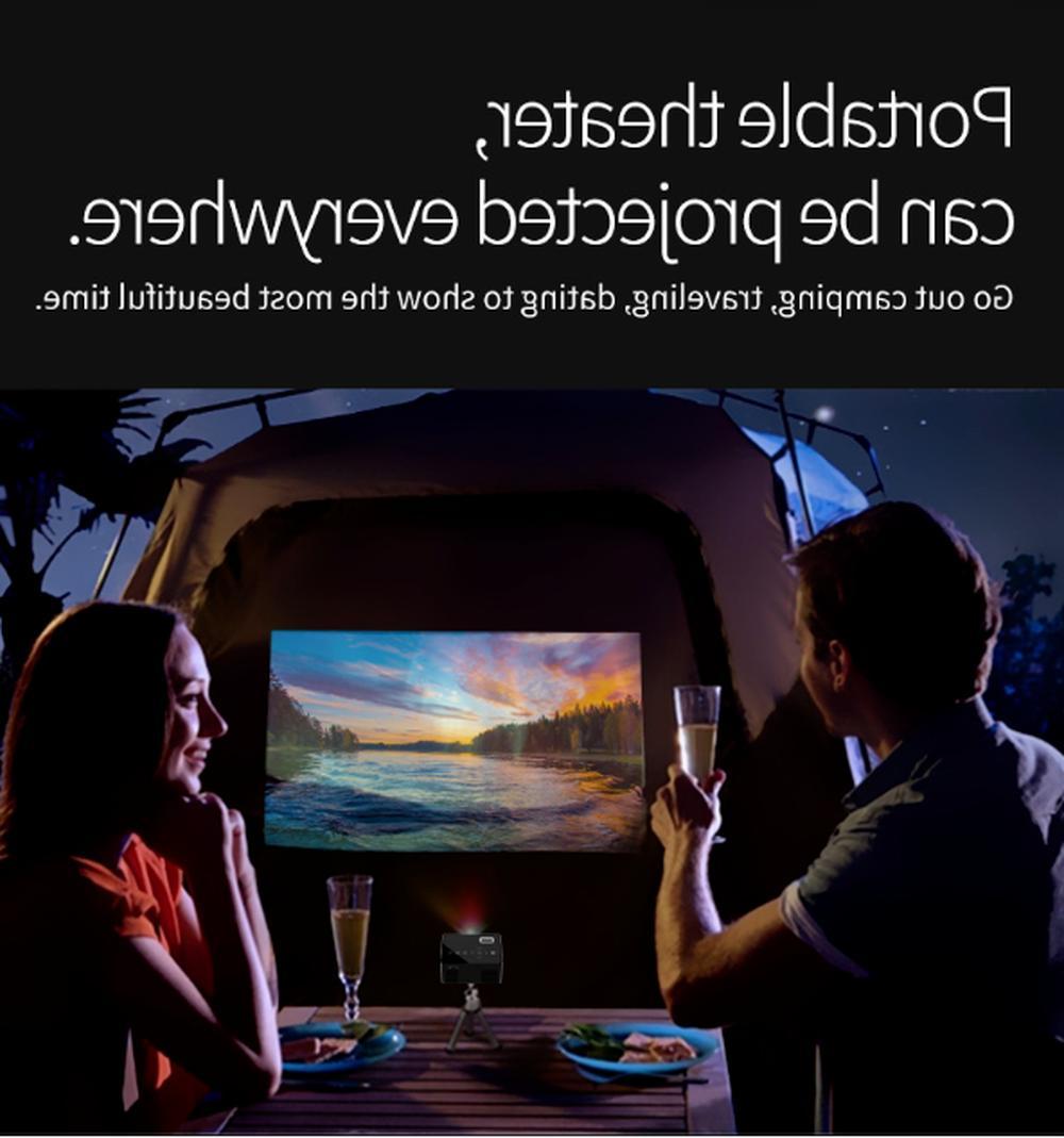 Projector Multimedia 1080P HDMI AV