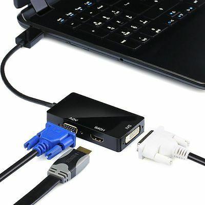 Projector Macbook Mini Port Thunderbolt to DVI HDMI
