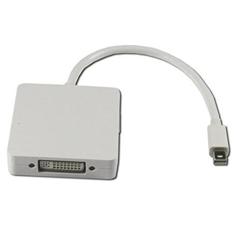 iiMash® Mini to HDMI/DVI/VGA Male 3-in-1 Adapter