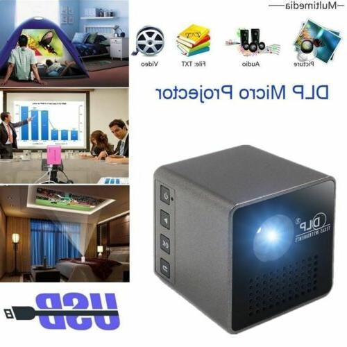 Mini DLP 1080P Cinema Wifi /Miracast SD