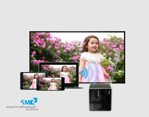 Mini DLP 1080P Home Cinema Airplay /Miracast SD