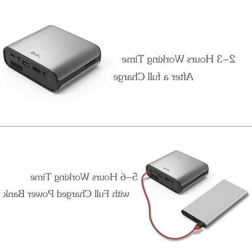 Mini DLP Projector with built-in Battery