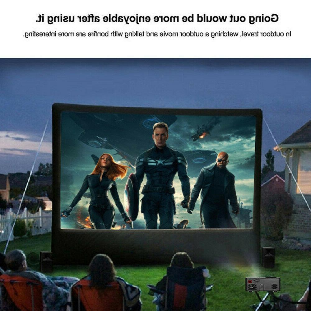 Mini 1080P Projector Home Cinema HD SD Multimedia