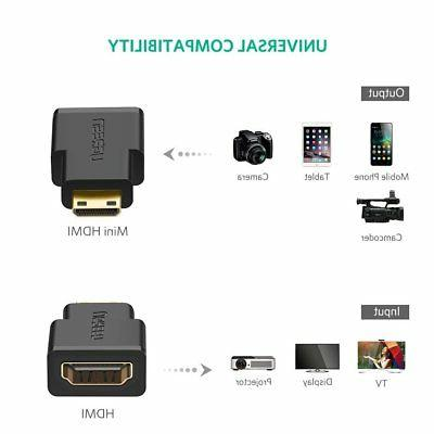 UGREEN to HDMI Adapter for Camera MP4 Camcorder Projector