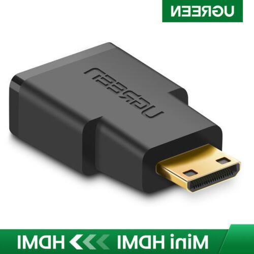 mini hdmi to hdmi adapter connector