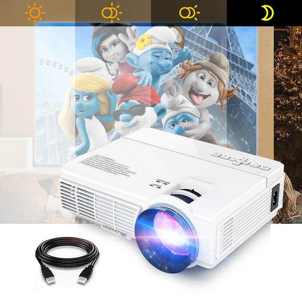 mini lcd home cinema projector 2400 lumens