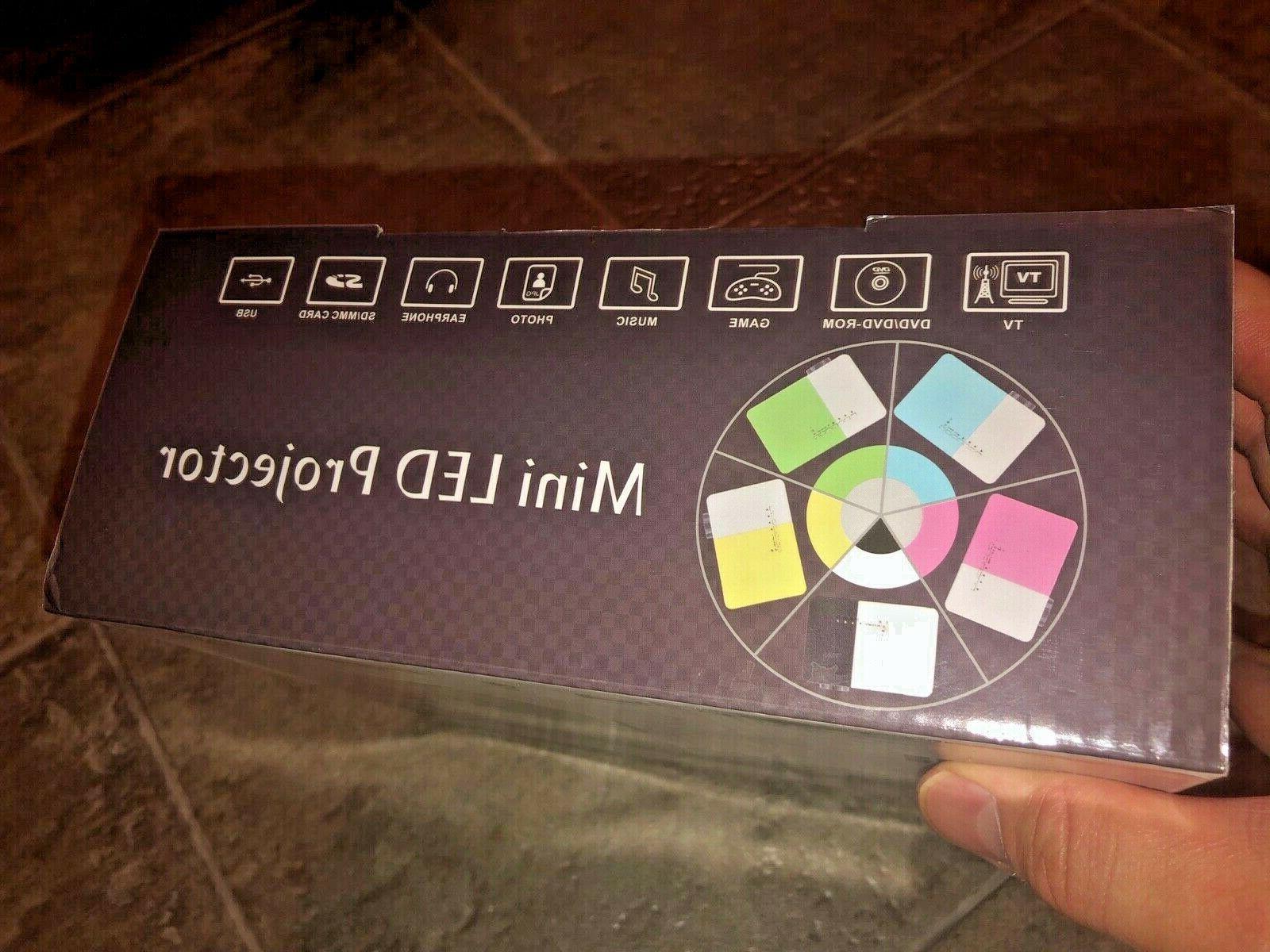 EUG Mini-LCD Home Theater Projector1080p_USB