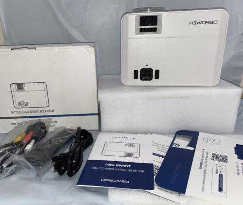 mini lcd video projector rd 820 white