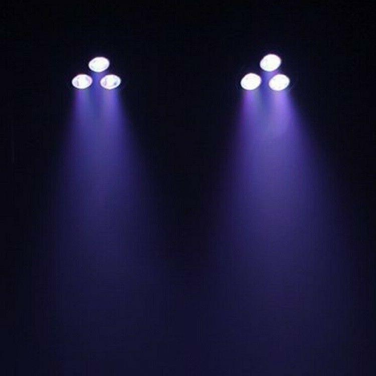 Mini Derby 4pcs Par Can LED Laser Projector Night Club