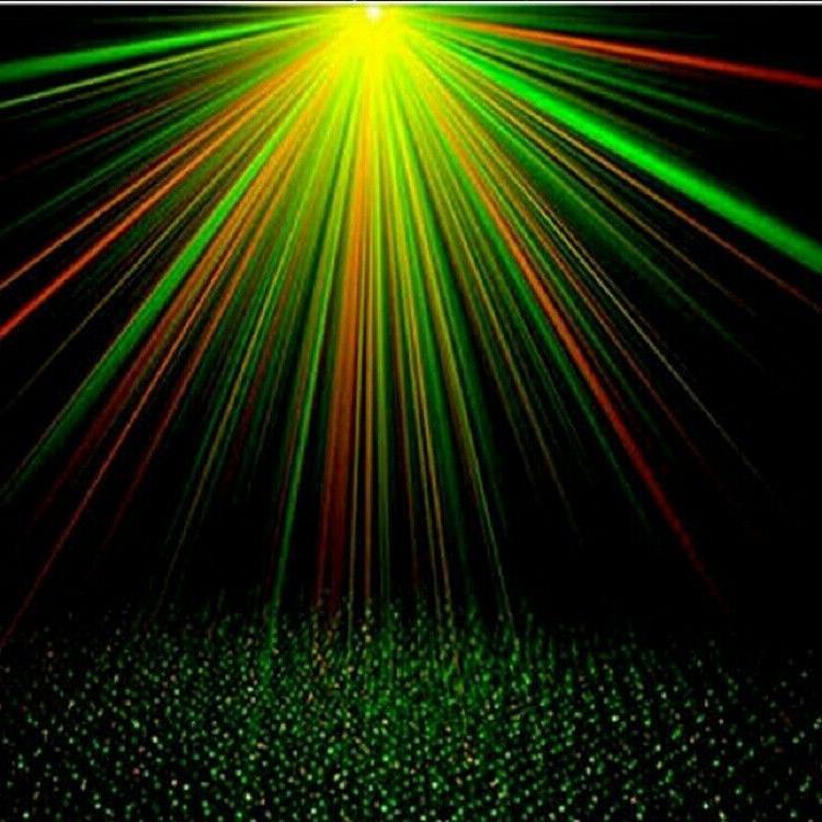 Mini 4pcs Par Set LED RG Laser Night Club