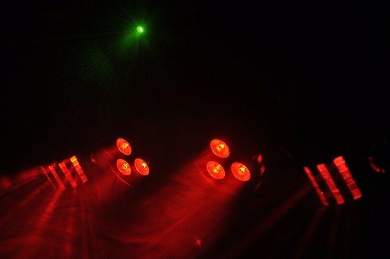 Mini Derby 4pcs Par LED RG Night Club